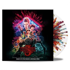 Stranger Things Season Three 'Fireworks Splatter' Vinyl