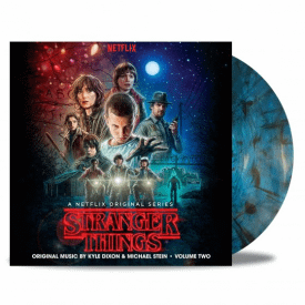 Stranger Things Volume Two 'Upside Down Inter-Dimensional Blue' Vinyl