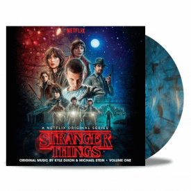 Stranger Things Volume One 'Upside Down Inter-Dimensional Blue' Vinyl Stranger Things Volume One 'Upside Down Inter-Dimensional Blue' Vinyl - Kyle Dixon & Michael Stein