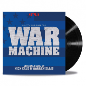 War Machine (Original Score) 2 x LP 'Black Vinyl' - Nick Cave And Warren Ellis