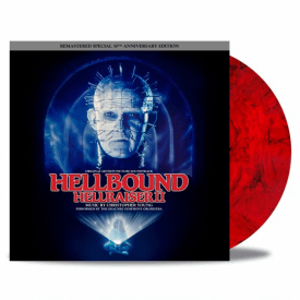 Hellbound: Hellraiser II 30th Anniversary Edition - 'Red/Black Bloodshed' Vinyl - Christopher Young