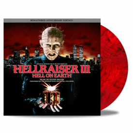 Hellraiser III - Hell On Earth 'Red W/ Black Smoke' Vinyl